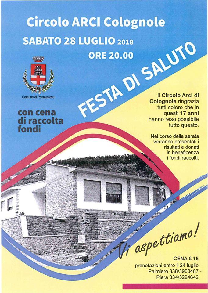 FESTA SALUTO CIRCOLO COLOGNOLE